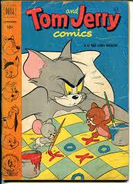 Tom & Jerry #98 1952-Dell-MGM Cartoons-Barney Bear-Tuffy-Preacher Roe-G:  (1952) Comic
