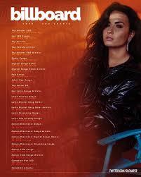 Demi Lovato Billboard Chart