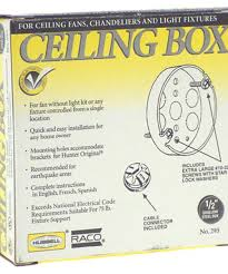 4 in round ceiling fan box city mill