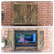 tv covers outdoor television inch best ideas on patio cabinet box l64