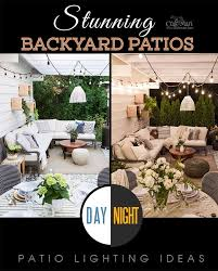 stunning patios with lights diy patio