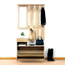 Hall Storage Bench And Coat Rack Stunning Hall Tree With Shoe Storage Corner Hall Tree Bench Best Hallway
