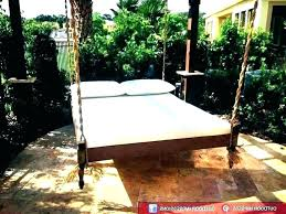 outdoor hanging bed ideas post outdoor hanging bed