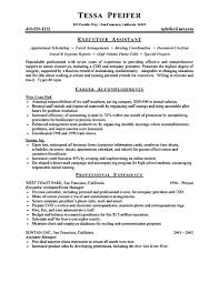 Awards On Resume Executive Assistant Resume Is Made For Those Professional Who Are 16