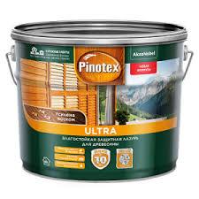 PINOTEX ULTRA <b>лазурь</b> защитная <b>влагостойкая</b> для защиты ...