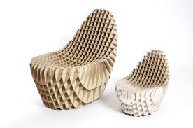 Corrugated Cardboard Furniture Chick N Egg Chair Designeros