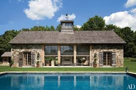 pool house ideas. A Rustic Stone Poolhouse Pool House Ideas