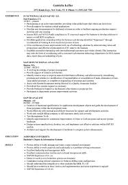 Sap Sd Resume Samples Velvet Jobs