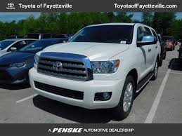 2017 New Toyota Sequoia Platinum RWD at Toyota of Fayetteville ...
