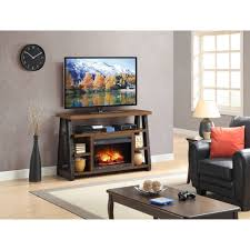 decor flame media electric fireplace for tvs up to 60 for awesome electric fireplace decor