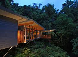 Luxurious tree house Wooden Designboom Mmp Architects Hp Tree House