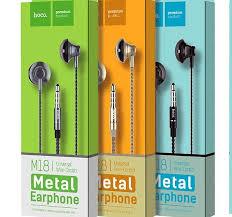 Проводные <b>наушники HOCO</b> «<b>M18</b> Gesi <b>Metallic</b>» с микрофоном ...