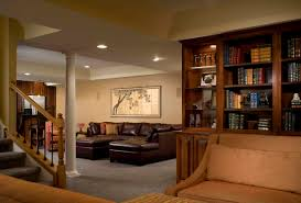 Interior  Lovely Finished Basement Kids With Luxury Sofa Set Of - Finished basement kids