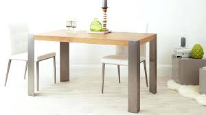 modern dining table modern oak and brushed metal legged dining table modern round dining table with