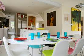 White Kitchen Furniture Sets White Kitchen Table Minimalist White Kitchen Ideas With Black And