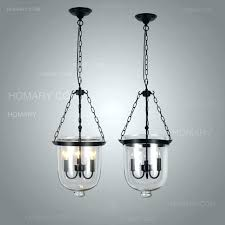 retro rustic clear glass 3 candle lights bell jar pendant light lamp bar antique country lighting