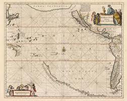 Google Marine Maps Charting Pacific Ocean Historic Maps
