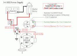 team rush racing copy right junk yard genius power supply motor chevy hei distributor wiring diagram schematic harness plugs