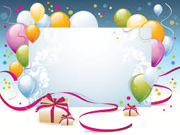 Happy Birthday Background Images Happy Birthday Present Powerpoint Templates Border Frames