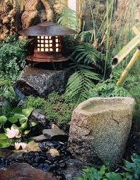 the sound of flowing or falling water adds to the soothing nature of any japanese