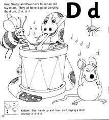 Free phonics worksheets from k5 learning; Jolly Phonics Workbook 2 C K E H R M D