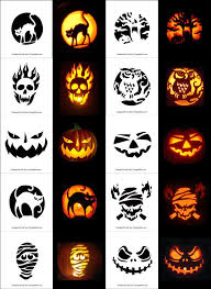 pumpkin carving patterns free free printable scary halloween pumpkin carving stencils patterns