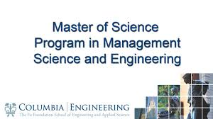Industrial Engineering And Operations Research Homepage