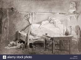 the sleep of marat after the painting by hubert robert jean paul marat
