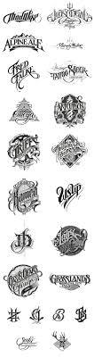 Mark S Custom Designs Hand Drawn Logotypes By Martin Schmetzer Lettering Design