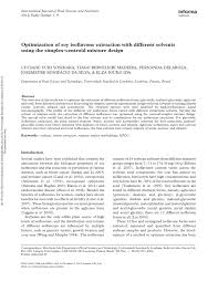 (PDF) Optimization of <b>soy isoflavone extraction</b> with different ...