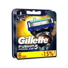 <b>Кассеты</b> для <b>станка Gillette Fusion</b> ProGlide сменные 6шт - купить ...