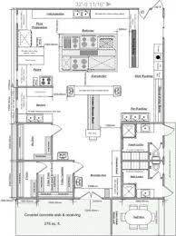 Restaurant Kitchen Design Impressive Industrialitchen Design Layout Pictures Ideas Floor