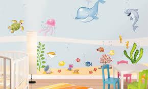 Stencil muro decorare e facile : Adesivi murali: pesce palla leostickers
