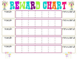 star charts for kids printable printable reward star chart