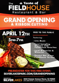 bar grand opening flyer grand opening edit silverlakes sports complex