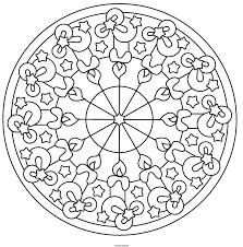 Animaux Coloriage De Mandala Coloriage De Mandala Gratuit