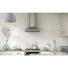 white kitchen tile. Unique Kitchen Wickes White Ceramic Wall Tile 200 X 250 Mm Intended Kitchen L