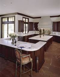 Marble Kitchen Flooring 49 Contemporary High End Natural Wood Kitchen Designs Deep Reddish