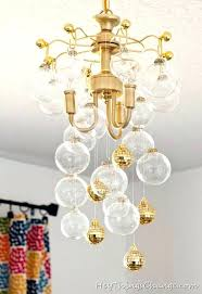 diy chandelier crystal chandeliers disco ball chandelier bubbly