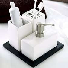cool bathroom accessories sets decor idea stunning contemporary