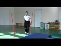 Прыжок в высоту перешагиванием  Прыжок в высоту перешагиванием