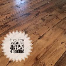 inexpensive wood flooring using pine boards all you need to know the house on winchester