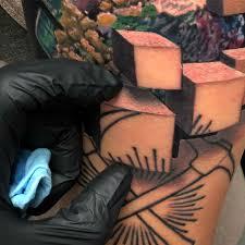 Mind Blowing 3d Tattoo Art By Jesse Rix
