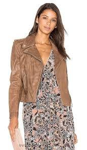 women leather jacket lamarque mushroom donna