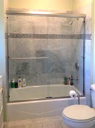 how to install bathtub sliding doors latest door stair design inside bathroom sliding