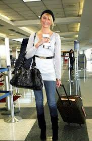 louis vuitton bags celebrities. louis vuitton monogram luggage in tow. \u2022 denise bags celebrities