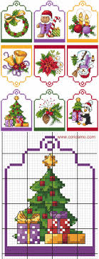 Cross Stitch Christmas Ornaments Patterns Free Best Design Ideas