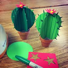 Extra Large Flower Paper Punch Paper Cactus Art Projects For Kids