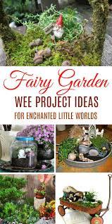9 little diy garden ideas including miniature gardens gnome garden patio water garden