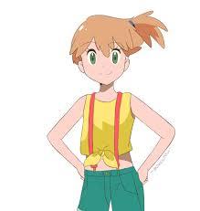 Pokemon Sun and Moon Anime - Alolan Misty by chocomiru02 on DeviantArt
